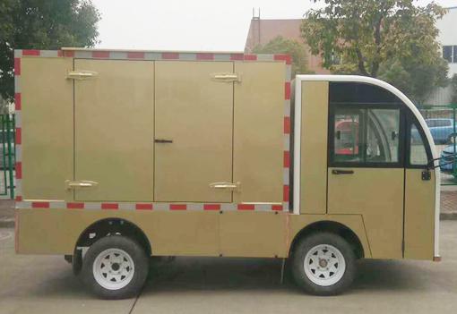 龙8娱乐_中国石化防爆电动送餐车