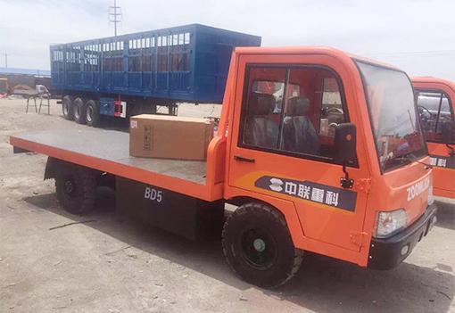 龙8国际娱乐long8cc_中联重科5吨电动平板货车