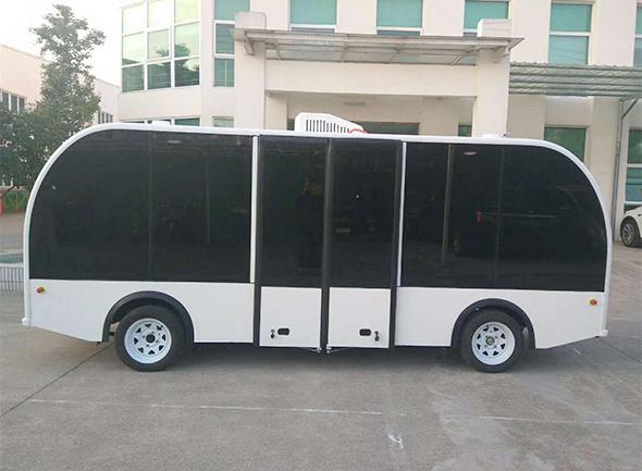龙8娱乐_杭州G20峰会无人驾驶观光车